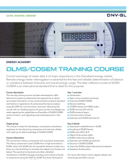 DLMS COSEM training course