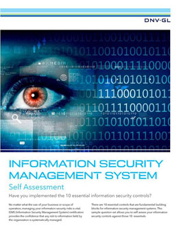 Information security essential controls