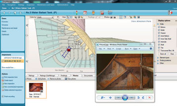 ShipManager Hull illustration - location of finding incl. photo